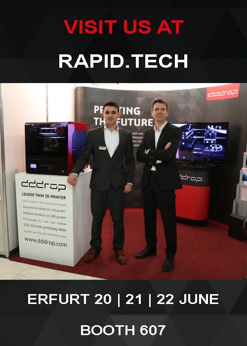rapid.tech dddrop 3D printers