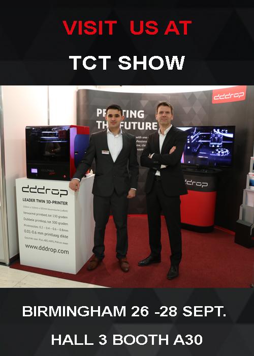 tct show dddrop 3D printers