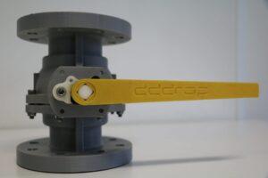 industrial 3d printing - ball valve