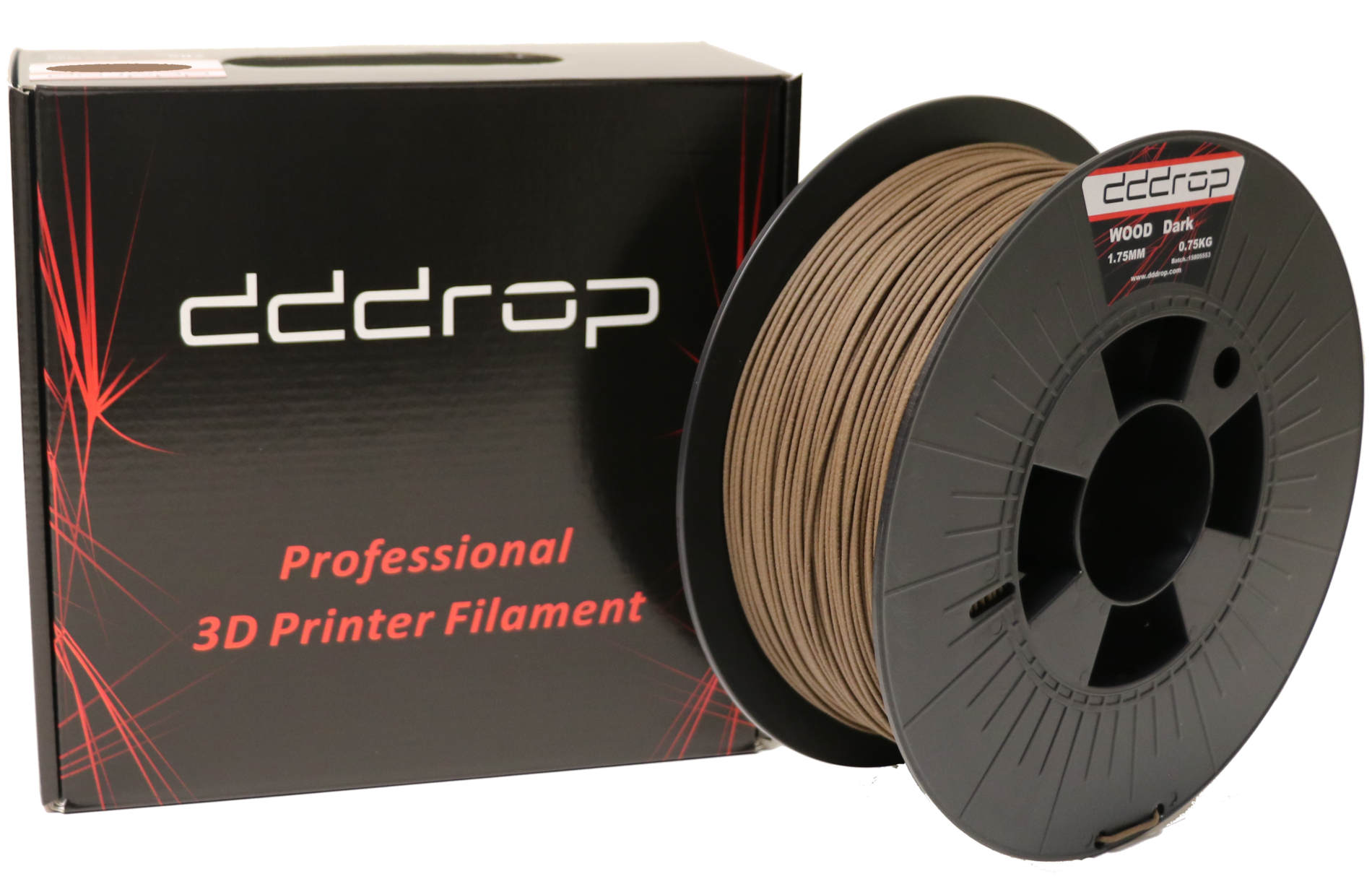 dddrop WOOD - natural dark - 1 75mm - 0 75kg